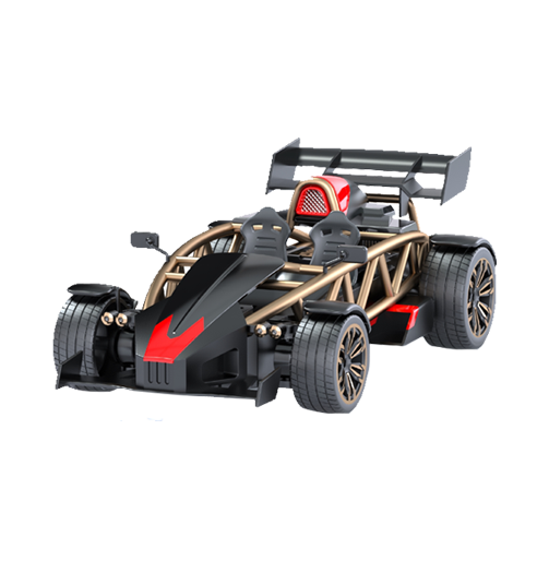 Die Cast RC Spray Car